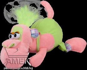 Маймуна с гащеризон| 2 цвята| 22 см