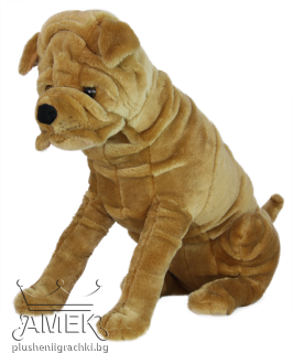 Реалистично куче Шарпей