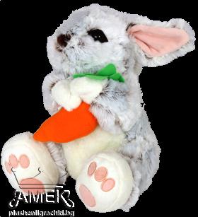 Заек с морков или цвете