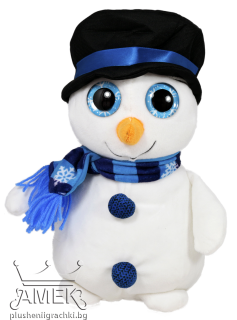 Snowman with big eyes| 2 colours