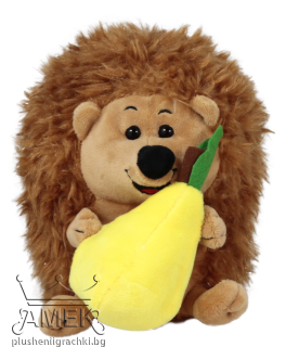 Hedgehog with fruit