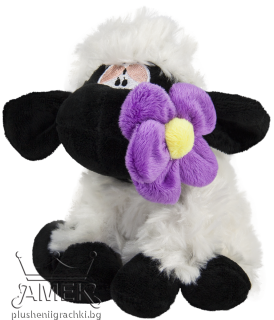Sheep with a flower|3 colours