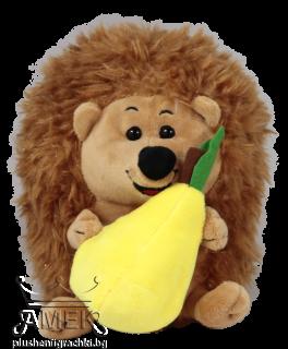 Hedgehog holding a fruit| 2 colours