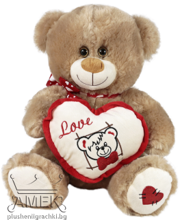 Teddy bear with heart| 2 colours