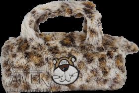 Плюшена чантичка с диви животни
