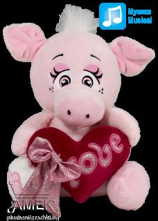Животни със сърце| 4 вида| 16см