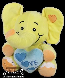 Слонче със сърце| 4 цвята