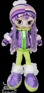 Кукла със зимни дрехи| 2 цвята