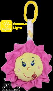 Слънце,Луна и Звезда| Светеща играчка