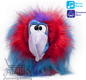 Talking parrots - Kiva, Ozzy, Tian