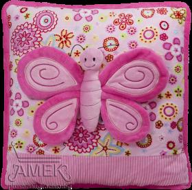 Възглавница с пеперуда