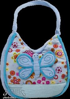 Чанта с пеперуда| 4 цвята