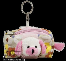 Портмоне - ключодържател с кученце| 3 цвята
