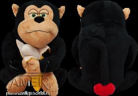 Маймуна с банан| 2 цвята