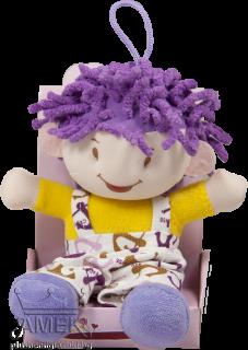 Плюшена кукличка в кутия| 4 цвята