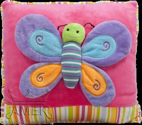 Възглавница с пеперуда| 6 цвята