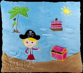 Морска възглавница с пират| 2 вида