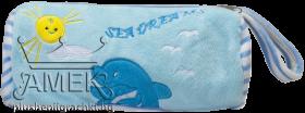 Несесер с гушнати делфини| 3 цвята