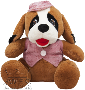 Куче с шапка| 2 цвята