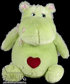 Хипопотам със сърце| 3 цвята