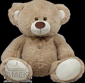 Teedy bear with polka sateen bow| 3 colours