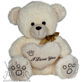 "Bear with heart ""I love you"""