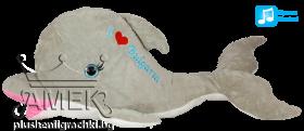 "Dolphin  ""I love Bulgaria""  - large"
